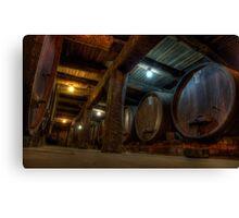 Winery Cellar Canvas Print