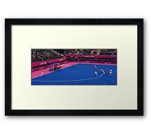 Olympics Hockey Framed Print