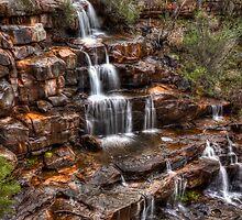 Burrong Falls - Grampians by NBoersma