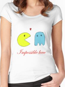 Impossible love  Women's Fitted Scoop T-Shirt