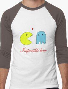 Impossible love  Men's Baseball ¾ T-Shirt