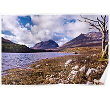 Liathach from Loch Clair, Torridon, Scotland Poster