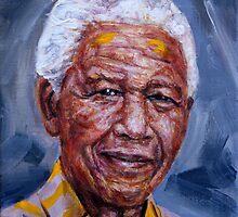 Nelson Mandela by Edward Ofosu