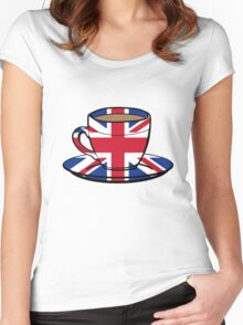 1 MILLION % British Women's Fitted Scoop T-Shirt