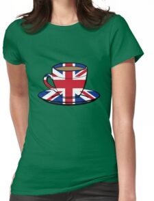1 MILLION % British Womens Fitted T-Shirt