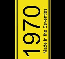 70s License Plate iPhone Cover ~ 1970 ~ Born in the Seventies Case by deanworld