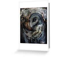 """""""Guardian of the forest"""" Greeting Card"""