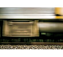 Train in Motion Photographic Print