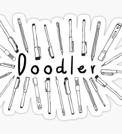 The Doodler Sticker