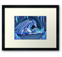 Mama Ice Dragon Framed Print