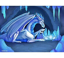 Mama Ice Dragon Photographic Print