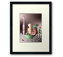 Magic items Framed Print