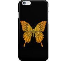 Orange Butterfly iPhone Case/Skin