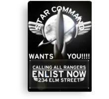 Star Command Canvas Print