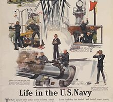 Life in the US Navy Secretary Daniels says No man who has served in the Navy leaves the service without being far better equipped to earn his living than he was before he enlisted 0001 by wetdryvac
