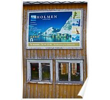 HOLMEN  LOFOTEN. by Brown Sugar. Poster