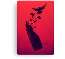 Bullet Birds Canvas Print