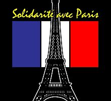 Solidarity with Paris by Samuel Sheats