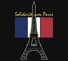 Solidarity with Paris by Samuel Sheats