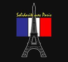 Solidarity with Paris Unisex T-Shirt