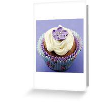 Purple on Top Greeting Card