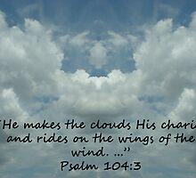 """""""Psalm 104:3""""  by Carter L. Shepard by echoesofheaven"""