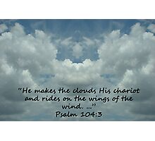 """Psalm 104:3""  by Carter L. Shepard Photographic Print"