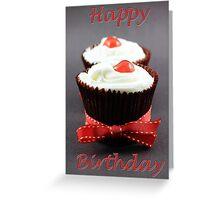 Happy Birthday, Cherry on Top Greeting Card