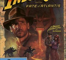 INDIANA JONES AND THE FATE OF ATLANTIS POSTER by dcmitchell