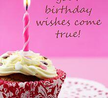 Birthday Cupcake by MelissaSue
