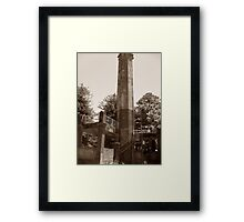 The Tower. Framed Print