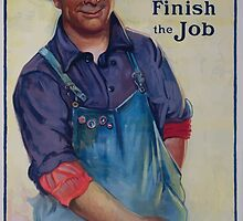 Sure! Well finish the job Victory Liberty Loan 002 by wetdryvac