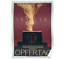 1918 Opfertag 776 Poster