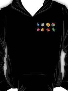 Pokemon Badges (Kanto Only) T-Shirt