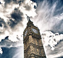 Big Ben by lorenzoviolone