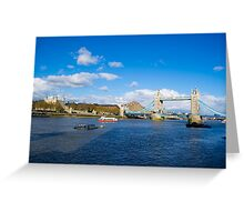 London Landscape Greeting Card