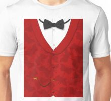 Victoriana - Bow Tie, Waistcoat and Watch Unisex T-Shirt