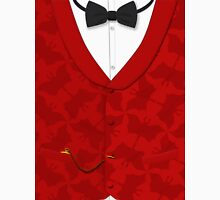 Victoriana - Bow Tie, Waistcoat and Watch Unisex T-Shirt