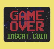 Game Over, Insert Coin Kids Tee