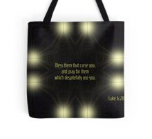 Bless Them That Curse You Tote Bag