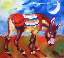 The Burro by Ellen Marcus
