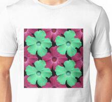 Hues of Hibiscus  Unisex T-Shirt