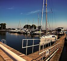Cobourg Harbour by Robin Webster