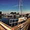 Cobourg Harbour by Robin Webster
