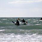 Kayaking and Surfing by Victoria Kidgell