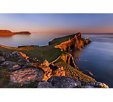 Neist Point. Isle of Skye. Scotland. Photographic Print
