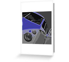 VW Split Screen Blue Greeting Card