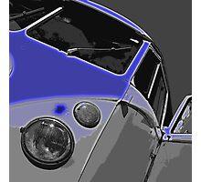 VW Split Screen Blue Photographic Print
