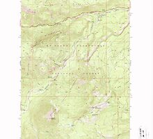USGS Topo Map Washington State WA Old Scab Mtn 242935 1971 24000 by wetdryvac