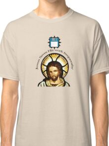 Jesus Saves (His work frequently) Classic T-Shirt